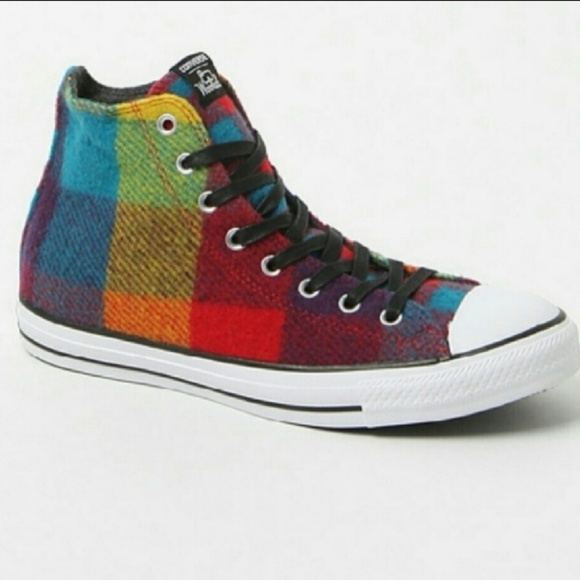 b1f61a0d63e1 Converse Shoes - Converse All Star - Woolrich multi color plaid. 7